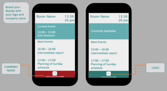 Meeting Room Schedule - Branding