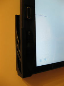 tablet wall mount - adhesive